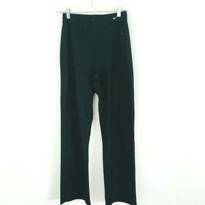 Nike Black Zip Closure Athletic Pants Medium